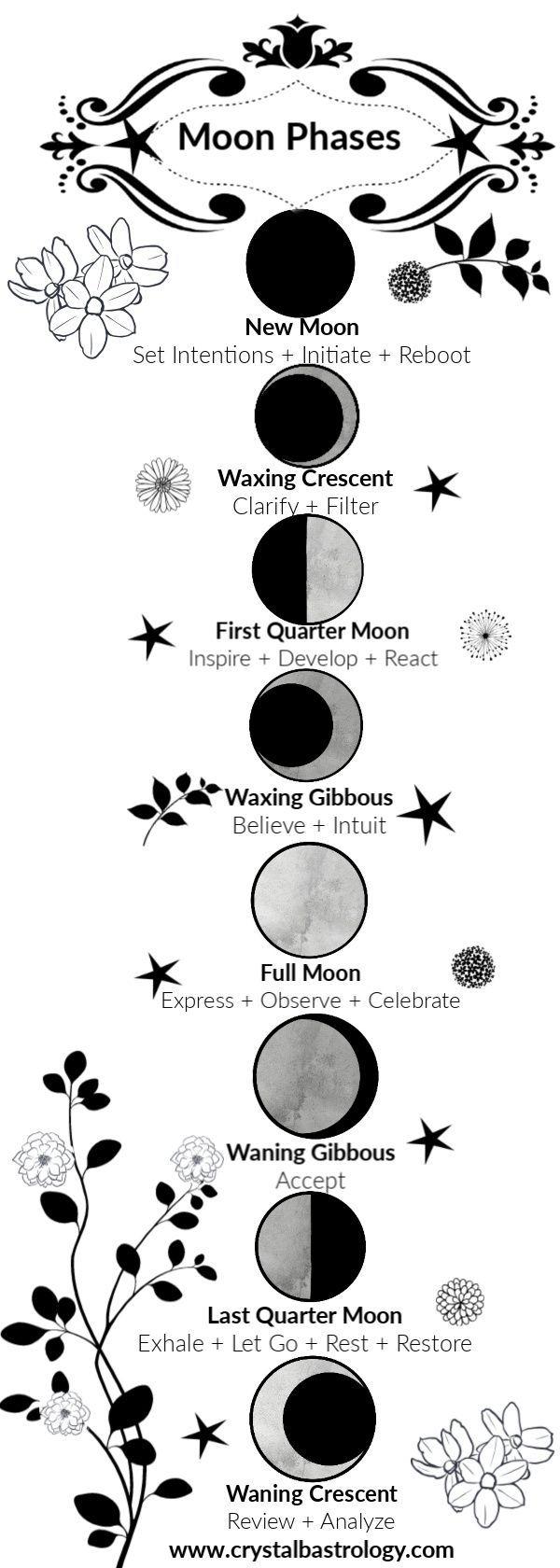 Moon Astrology And Lunar Calendars & Guides | Moon