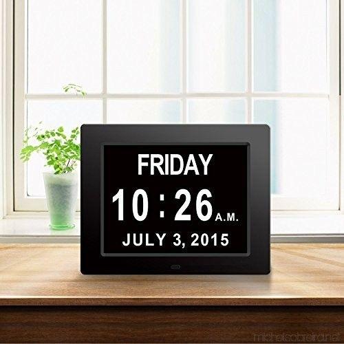[newest Version]12 Alarms Clock Digital Clock The