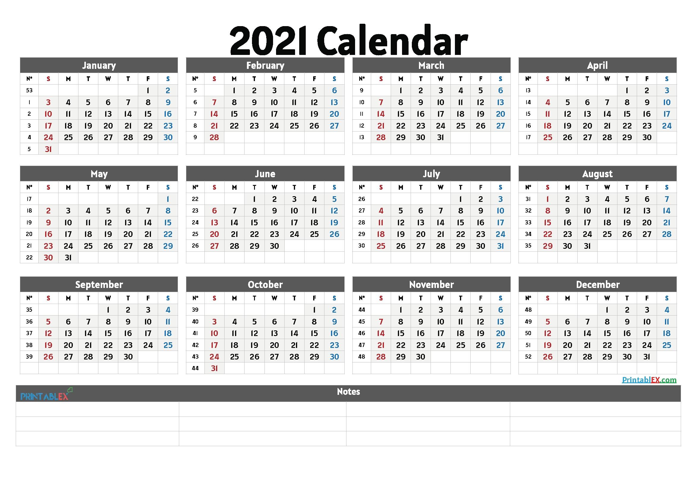 online free printable calendar 2021 | calendar printables