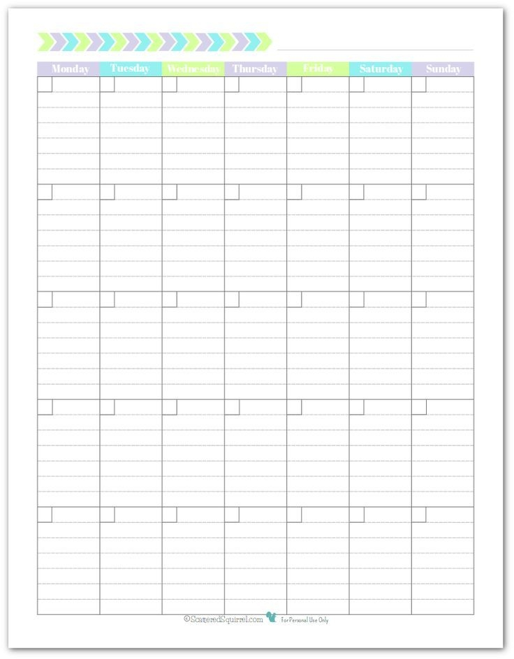 personal planner free printables | blank monthly