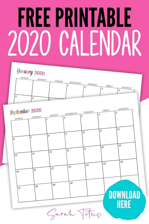 Print Calendar Custom Dates | Month Calendar Printable