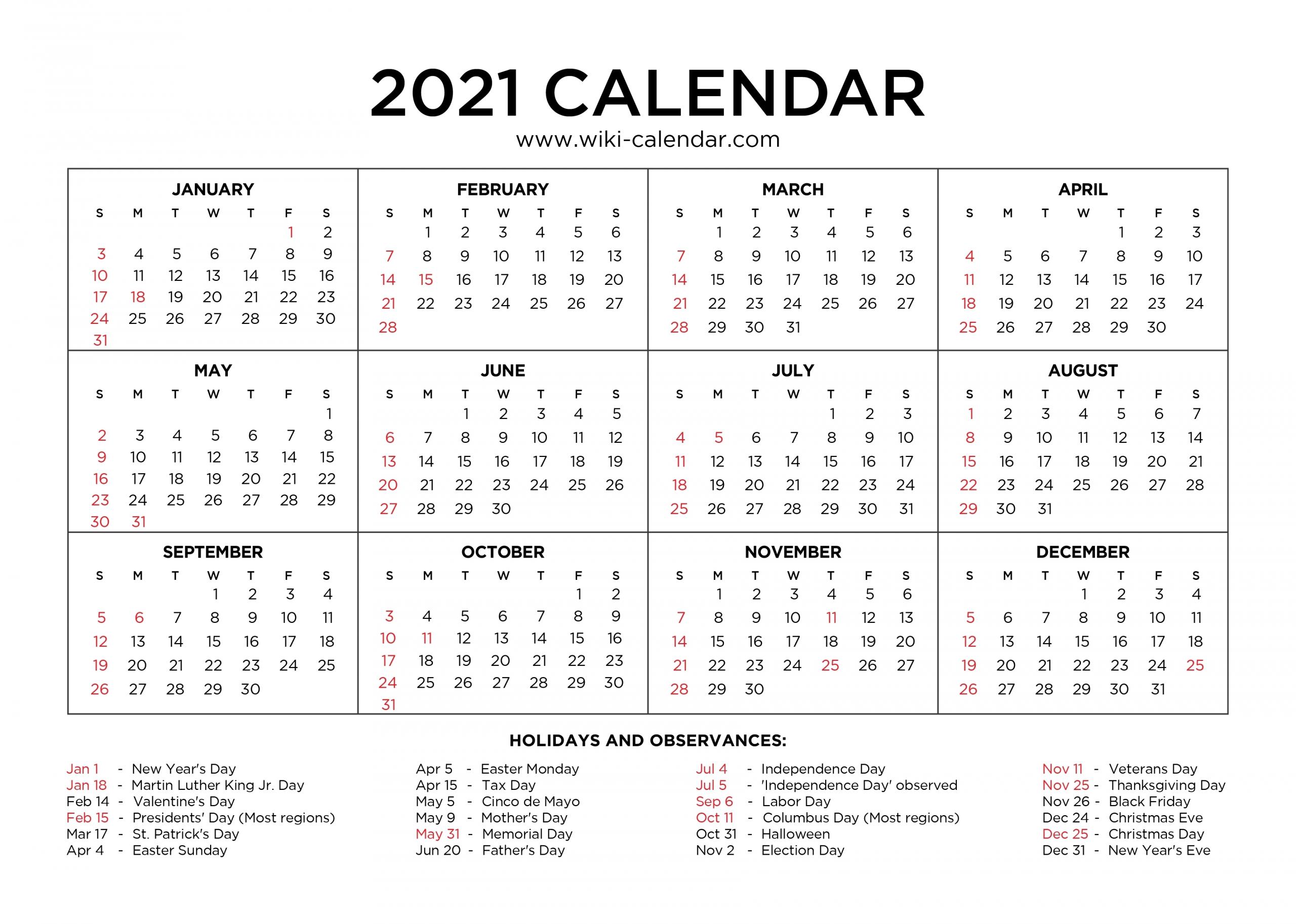 Printable 2021 Calendar With Lines Free | Calendar