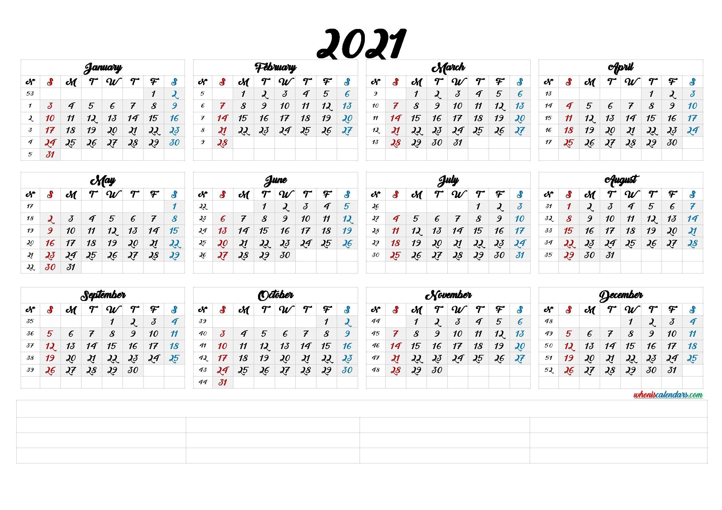 printable 2021 calendarmonth calendraex