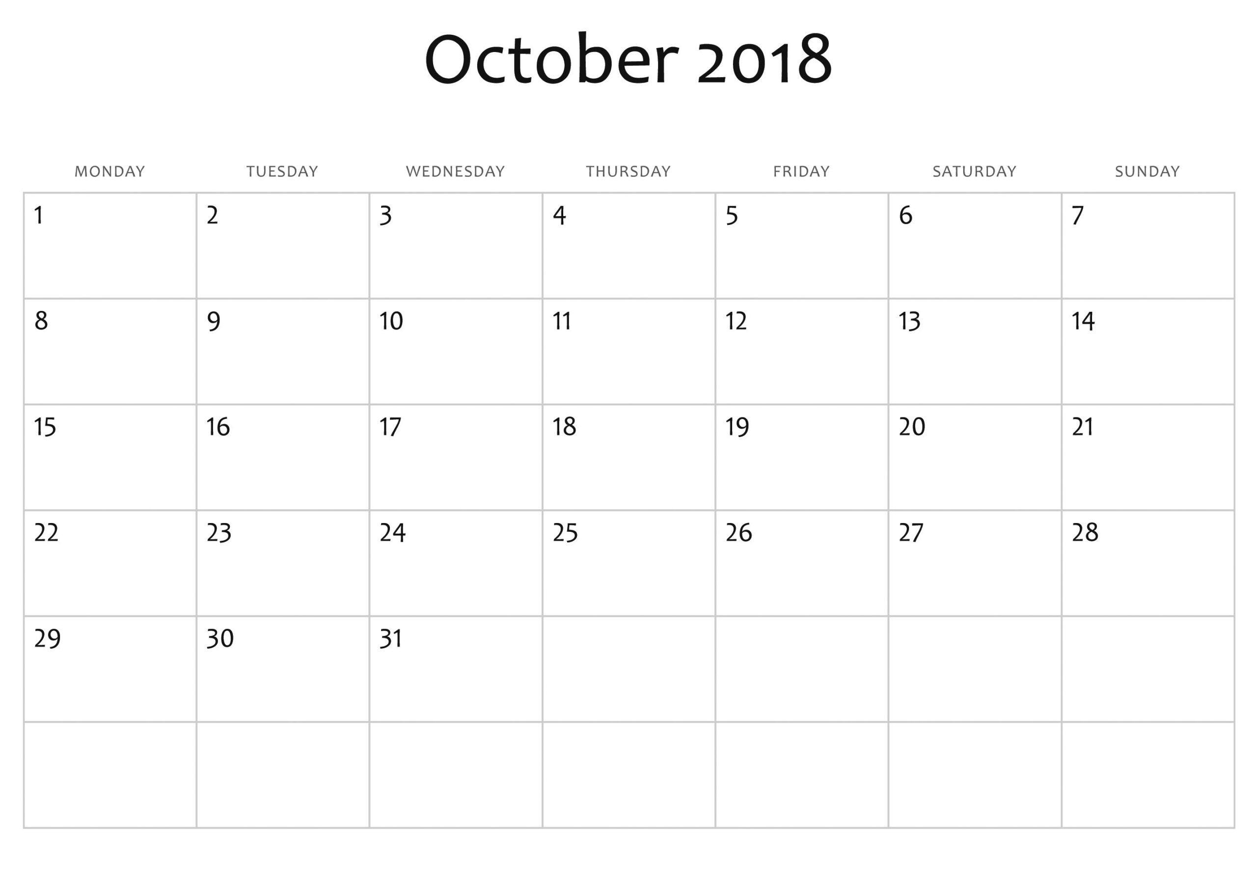 printable calendar you can edit | calendar printables free
