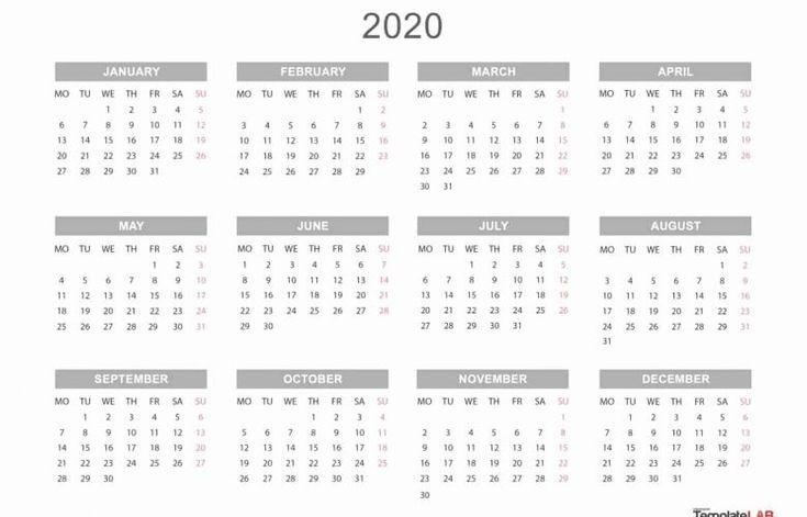 printable calendar you can edit in 2020 | calendar