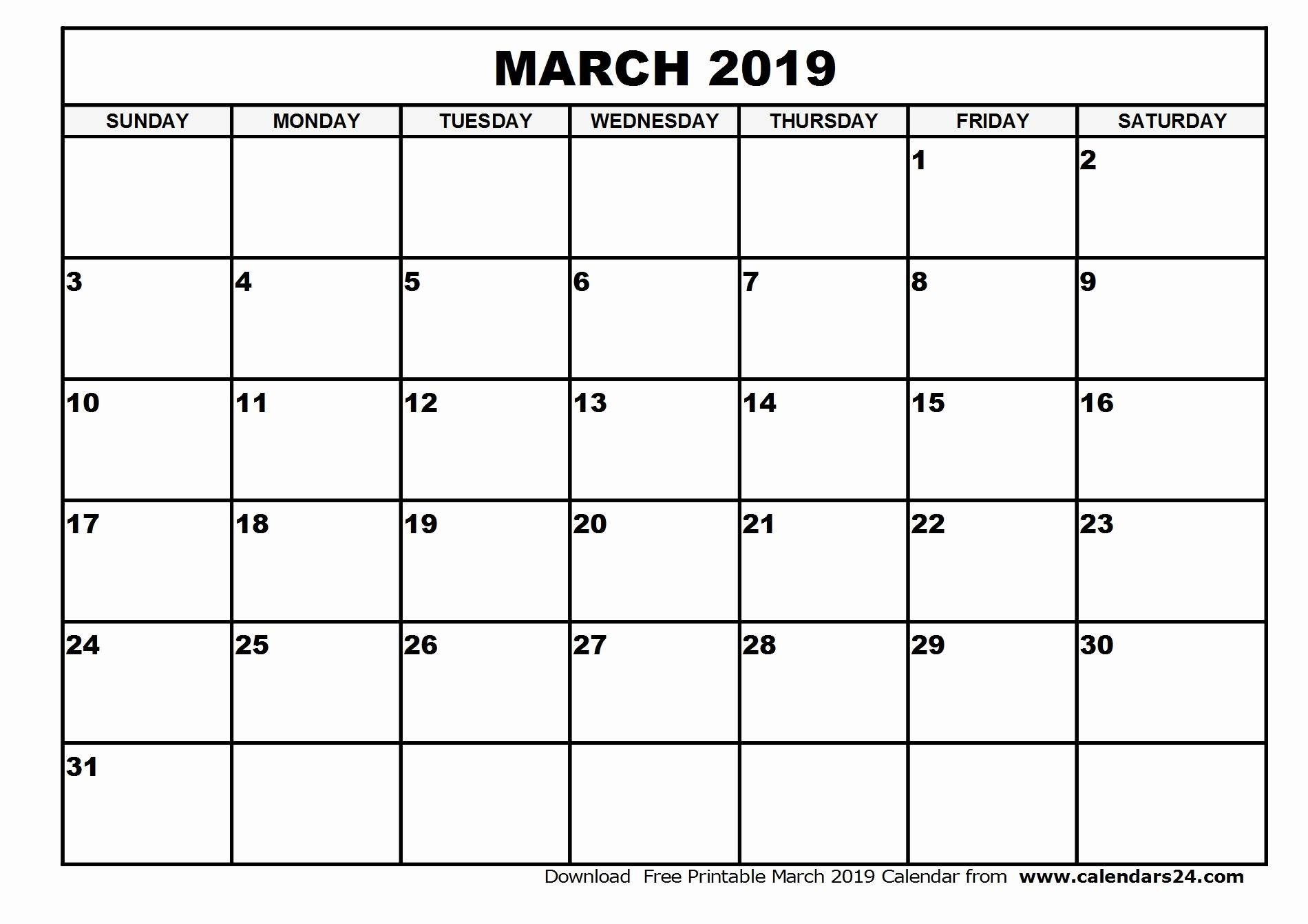 Printable Monthly Calander Sheets | Example Calendar Printable