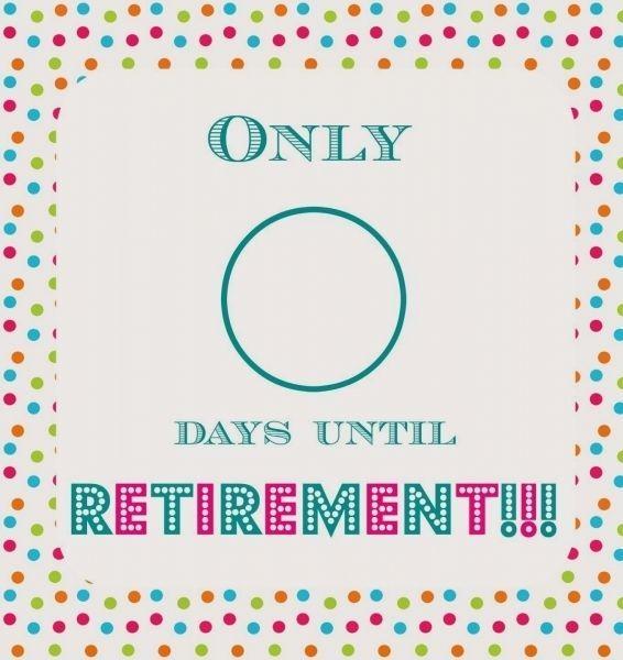 printable retirement countdown | printable calendar
