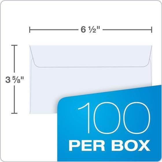 quality park 10417 #6 3/4 security redi strip envelopes, 3