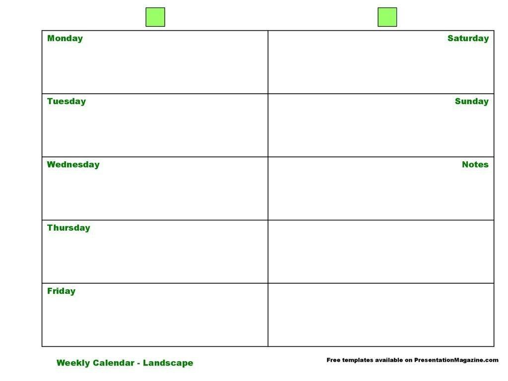 saturday to friday weekly calendar : free calendar template