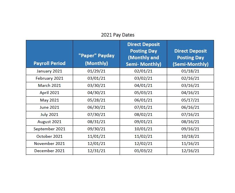 state of california payroll calendar 2021   payroll calendar