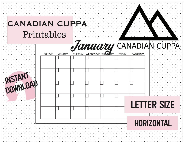 Sunday To Saturday Calendar | Calendar Template Printable