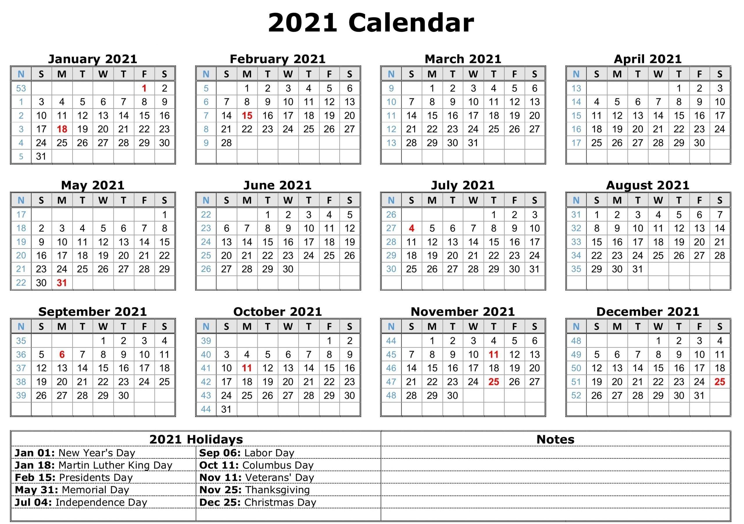 take 2021 printable calendar free | calendar printables
