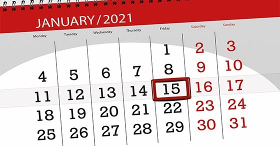 the next estimated tax deadline is january 15 if you have