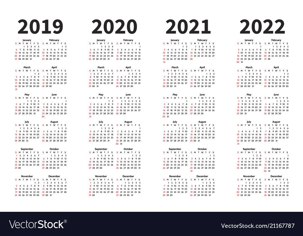Three Year Calendar 2021 2023 | Calendar Printables Free Blank
