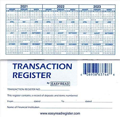 top 7 harland clarke check register check registers