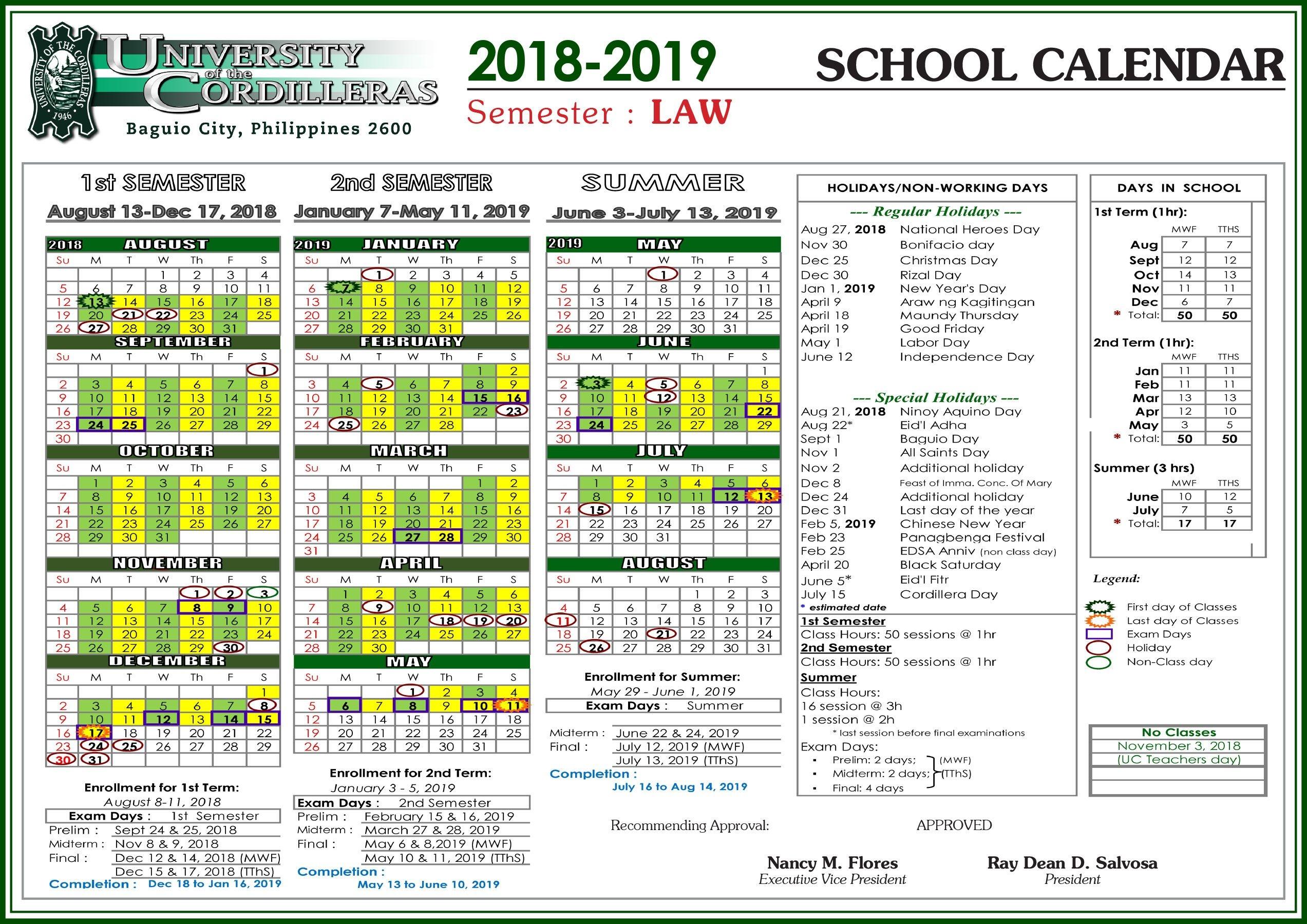 uc academic calendar 2020 | free printable calendar