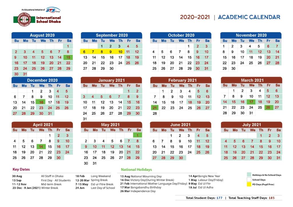 Ul Academic Calendar 2021 | Calendar 2021