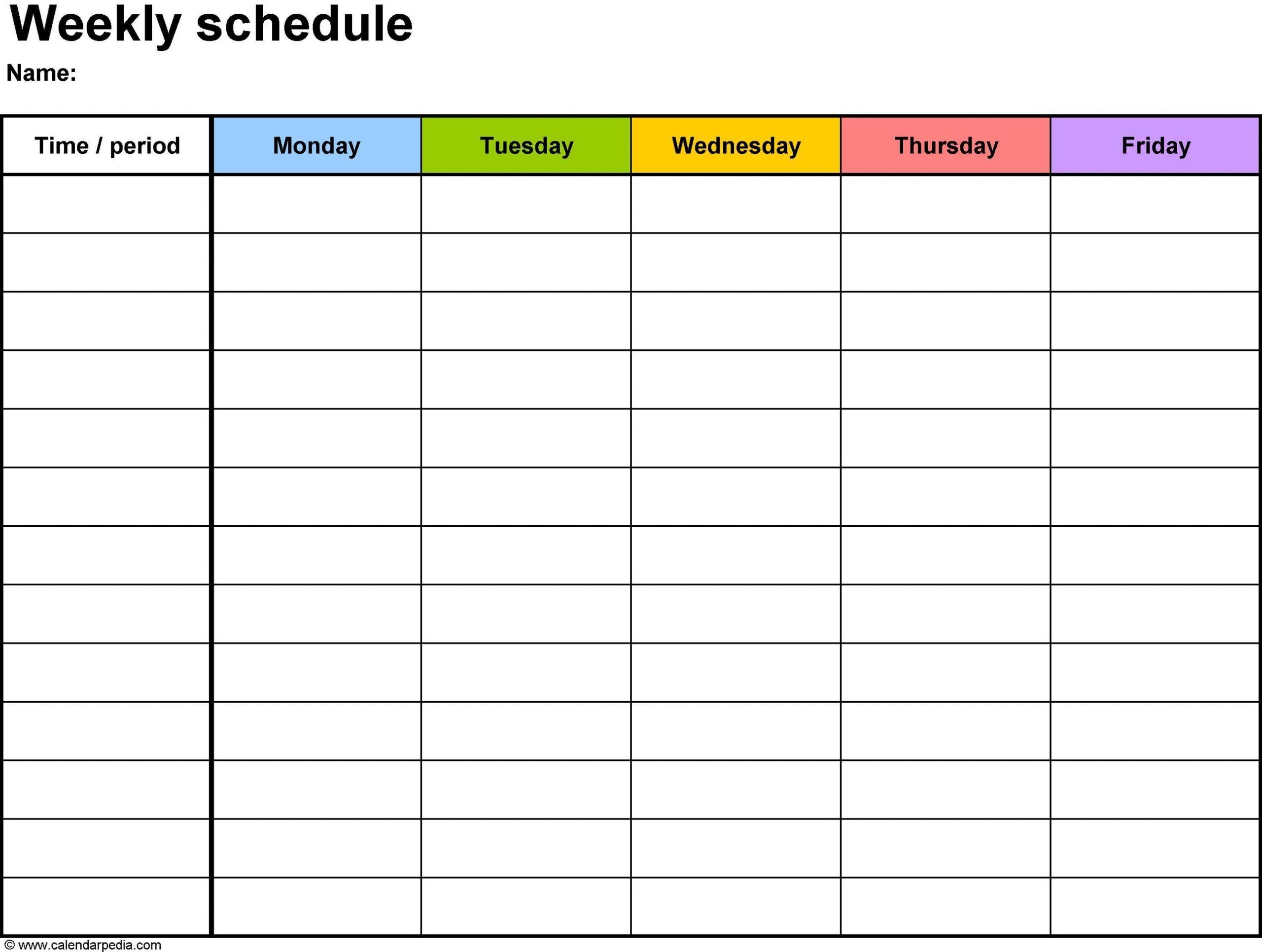 unique printable diet calendar | daily schedule template