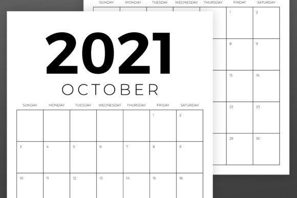 Vertical 8 5 X 11 Inch 2021 Calendar (graphic)running