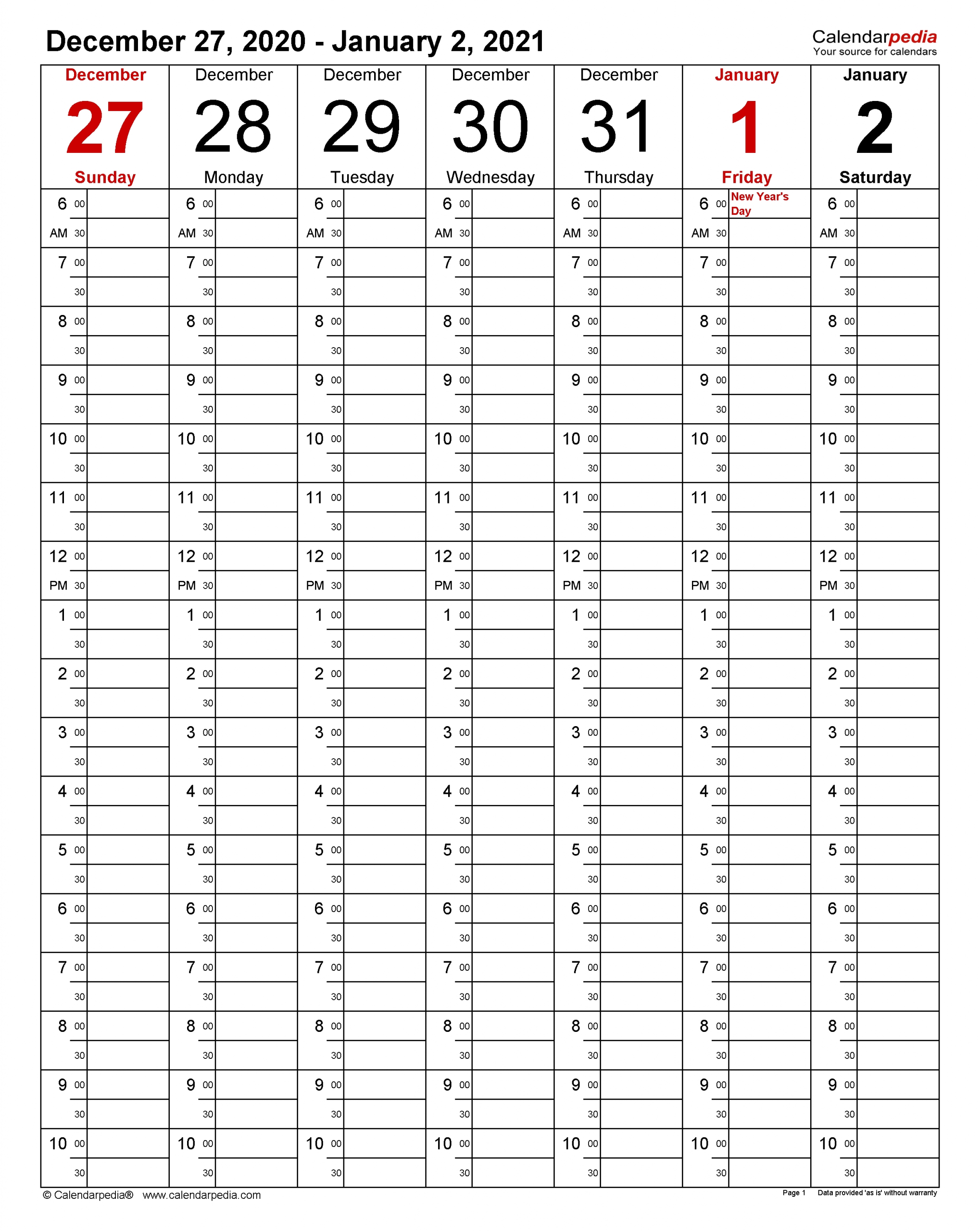 weekly calendars 2021 for word 12 free printable templates