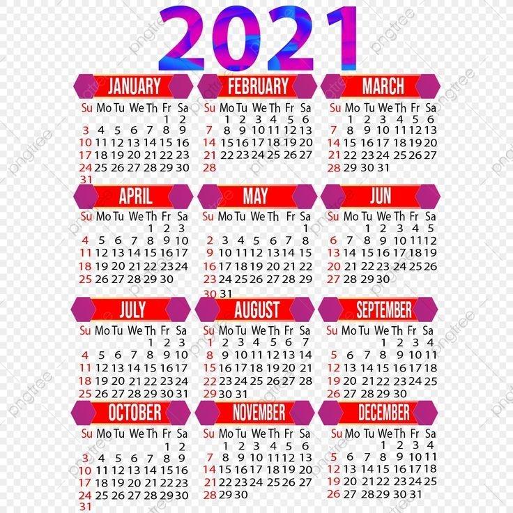 year 2021 creative calendar design, 2021, 2021 calendar